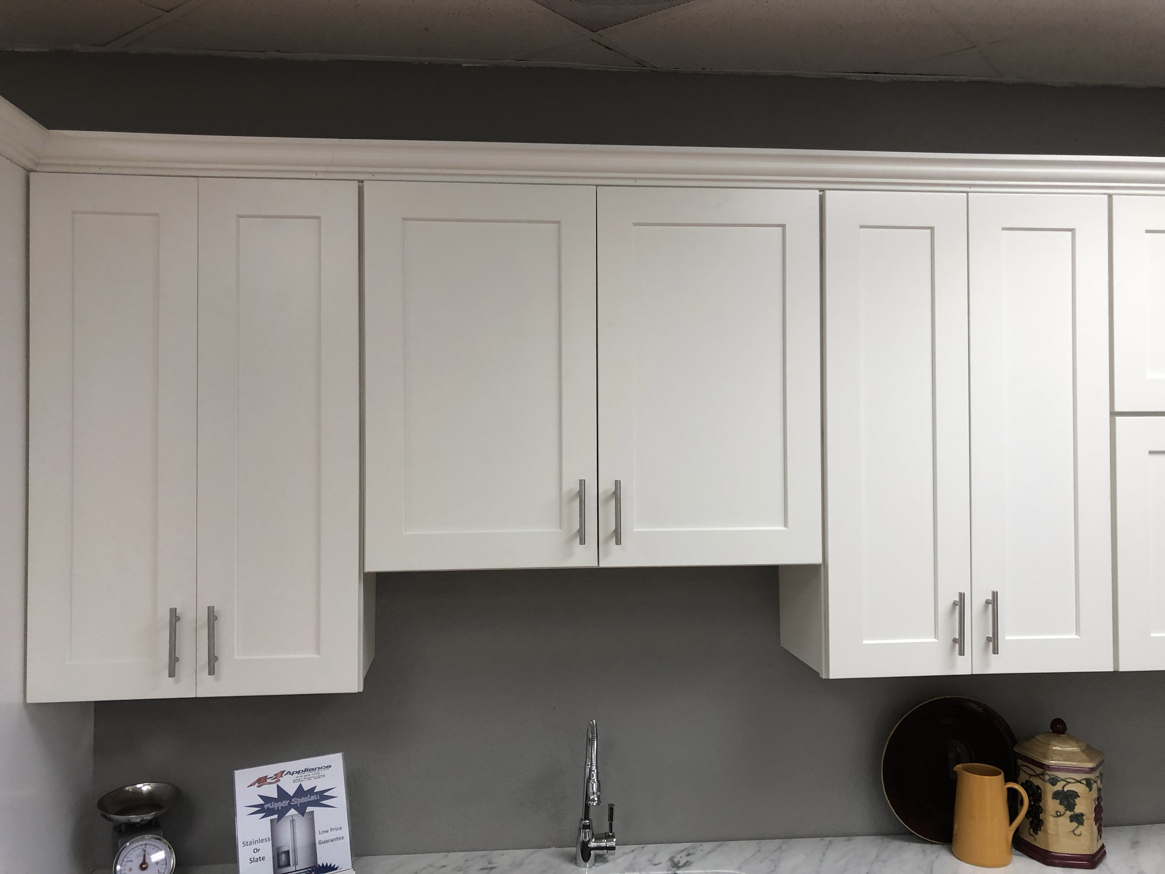 In Stock Cabinet Source white shaker